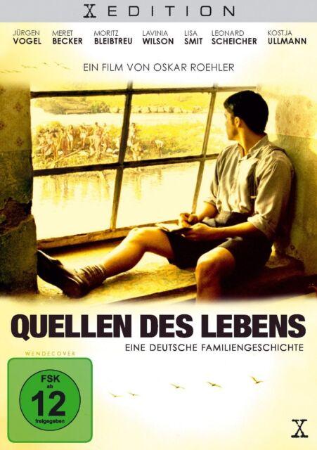DVD * Quellen des Lebens - Eine deutsche Familiengeschichte * NEU OVP