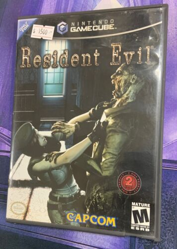 Resident Evil (GameCube, 2002) w/Case & Both Discs #🎮GCS🎮 Free Shipping