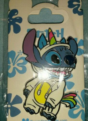 Stitch in a Unicorn Pyjama Disney Land Paris Dlrp Dlp 2021 August Pin