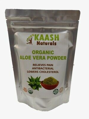 Aloe Vera Powder 100% Raw USDA Certified Organic  100% Organic Aloe