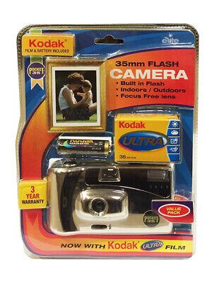 KODAK POCKET FLASH REUSABLE 35mm CAMERA with 36 PHOTOS