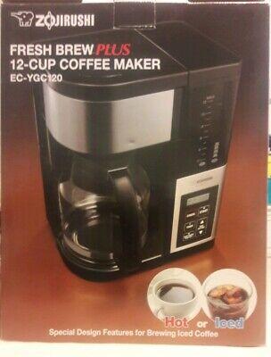 BRAND NEWZojirushi Fresh Brew Thermal Carafe Coffee Maker 10 Cup Black EC-YSC100
