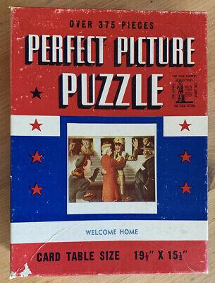 Vintage 1940's PERFECT PICTURE PUZZLE