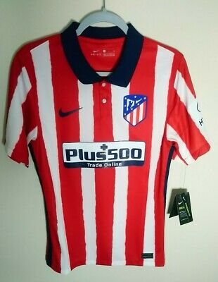 Nike Atletico Madrid 2020/21  Red Home Soccer Jersey Men's Small CD4224-612  image