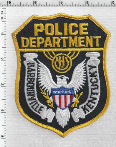 Barbourville Police (Kentucky) 2nd Issue Shoulder Patch