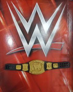WWE MATTEL BASIC SERIES WORLD CHAMPION BELT FOR WRESTLING FIGURES JOHN CENA