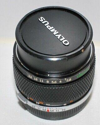 Olympus OM 100mm f/2,8; prime lens