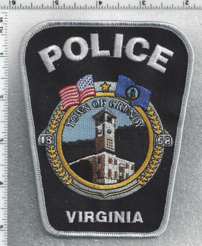 Town of Grundy Police (Virginia) 5th Issue Shoulder Patch