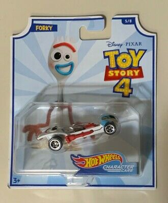 Disney's Toy Story 4 - Forky - Hot Wheels - Collector's Edition