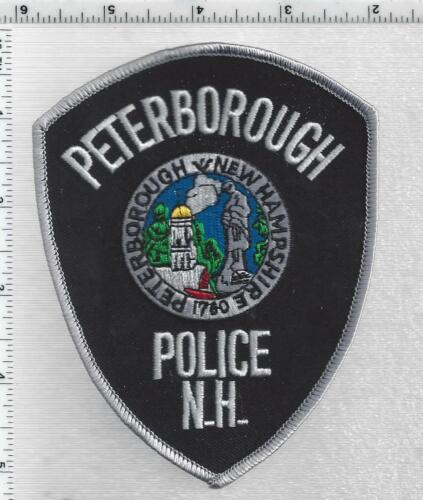Peterborough Police (New Hampshire) 2nd Issue Shoulder Patch