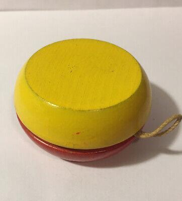 Vintage Wood  Yo-Yo Red Yellow Japan