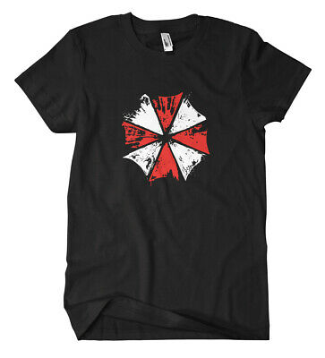 Umbrella T-Shirt Resident Gamers Zombie Evil Corp Alpha Virus Squad Fun Zocken