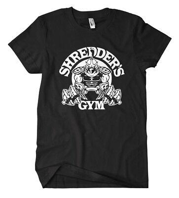 Shredder´s Gym T-Shirt Fun Kult Splinter Turtles Mutant Ninja TMNT Comic Film