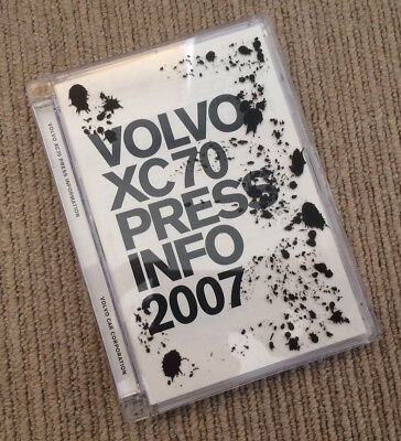 2007 Volvo XC70 Launch Press Kit/Pack  - CD with Images