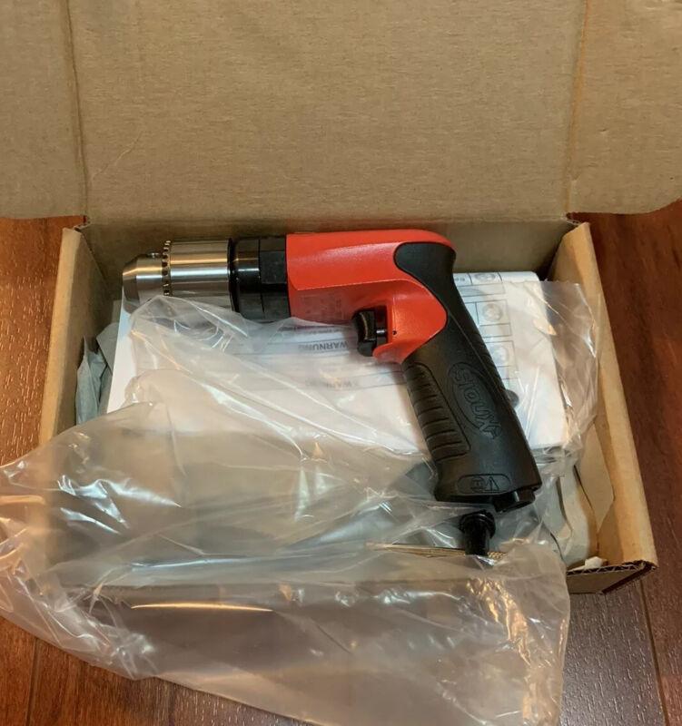 """Brand New! Sioux SDR6P26N4 Mini Air Drill 2600RPM 1/2"""" chuck Aircraft Tools"""