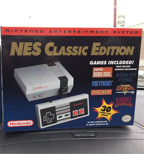 NES Classic Edition , new , sealed