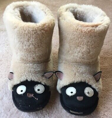 Emu Kids Shearling Boot Sheep Animal Size 12
