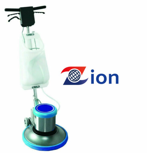 "Premium Industrial 17"" Floor Polisher Machine with(2 Brushes+1 Pad Holder)"