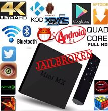 MINI MX ANDROID BOX FULLY LOADED FREE MOVIES TV SPORTS CARTO...