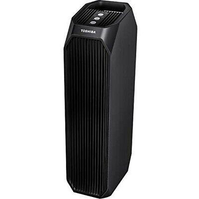 Toshiba Smart WiFi Air Purifier, 3-in-1 True HEPA Cleaner, 26'', Black