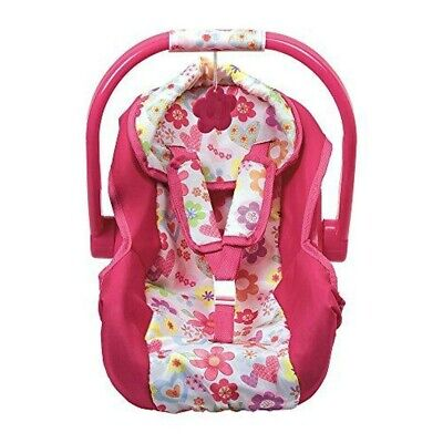 Adora Baby Doll Accessories Pink Car Seat Carrier New With Tag
