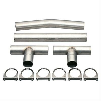 Summit Racing Crossover Pipe H-Style Balance Tube Steel 2.5
