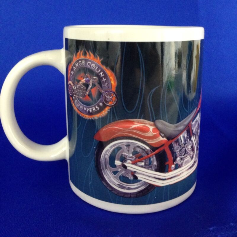 Orange County Choppers Coffee Tea Mug 9 Oz Motorcycle 2004 #31699