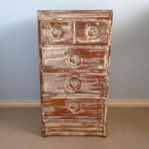 Retro Shabby Chic Bedside Table Cherrybrook Hornsby Area Preview