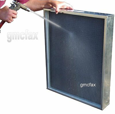 16 x 25 x 3-1/2 Permanent Washable Media Filter - Fits Carri