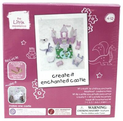 - THE LITTLE EXPERIENCE Kids Craft Kit ENCHANTED CASTLE Make Create Play Toy | 4+