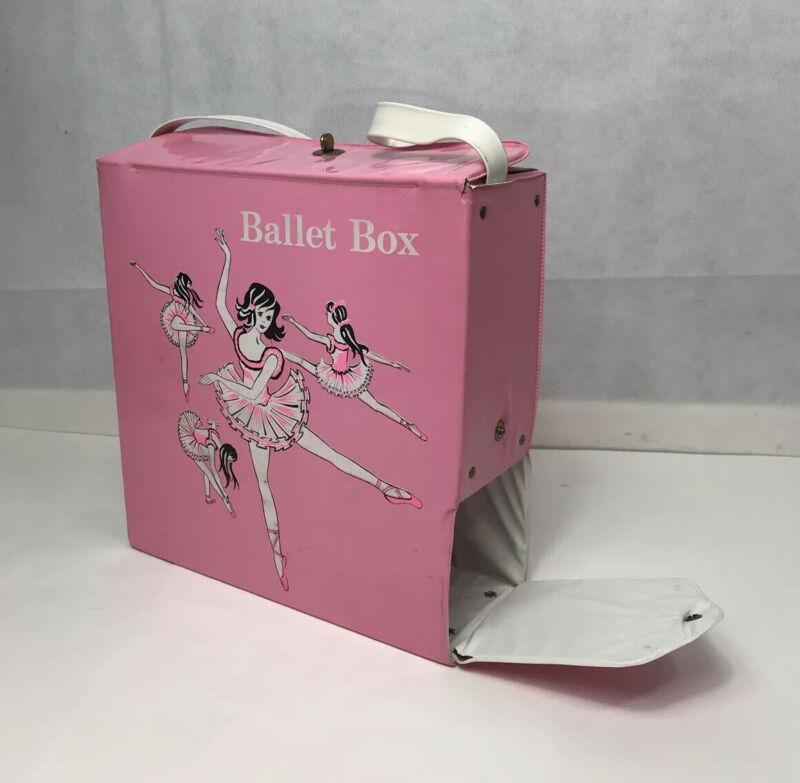 Vtg Pink Ballet Box Suzanne