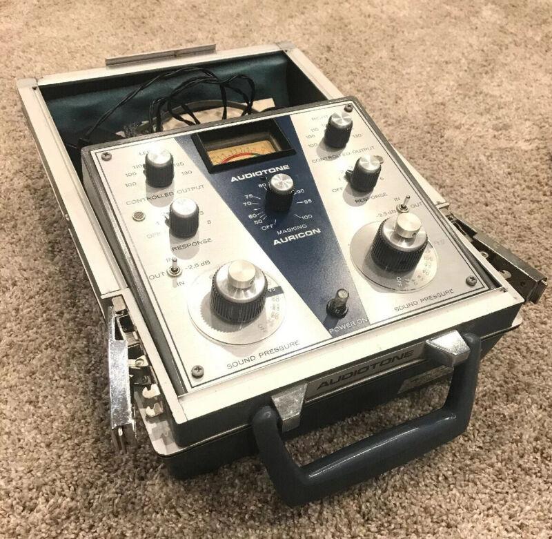VTG AURICON AUDIOTONE AUDIOMETER AR-11 SOUND PRESSURE HEARING AID TESTER MACHINE