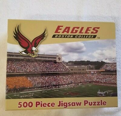 Boston College Eagles 500 Piece Jigsaw Puzzle~NEW for sale  Forest