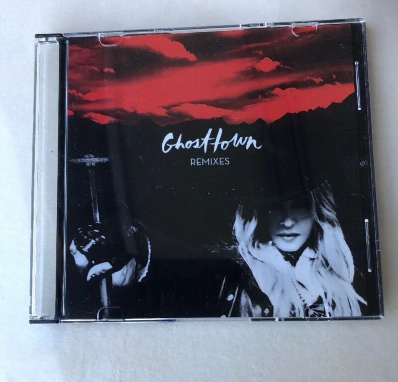 MADONNA GHOSTTOWN OFFICIAL 12 REMIXES USA PROMO ONLY CD - LIMITED EDITION RARE