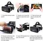 VR Headset Virtual Reality 3D Goggles For iPhone 6 6S 5 5S Plus Samsung S7 S8 S9 4