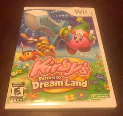 Kirby's Return to Dream Land (Nintendo Wii, 2011) - Tested