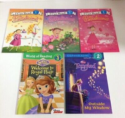 I Can Read Books Beginning 1 Reading Lot Pinkalicious  Disney Sofia the First