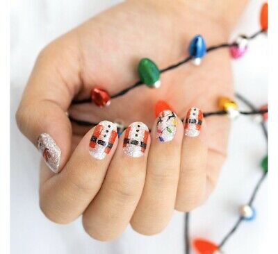 NIP * nail polish strips CS christmas Reindeer Games ()