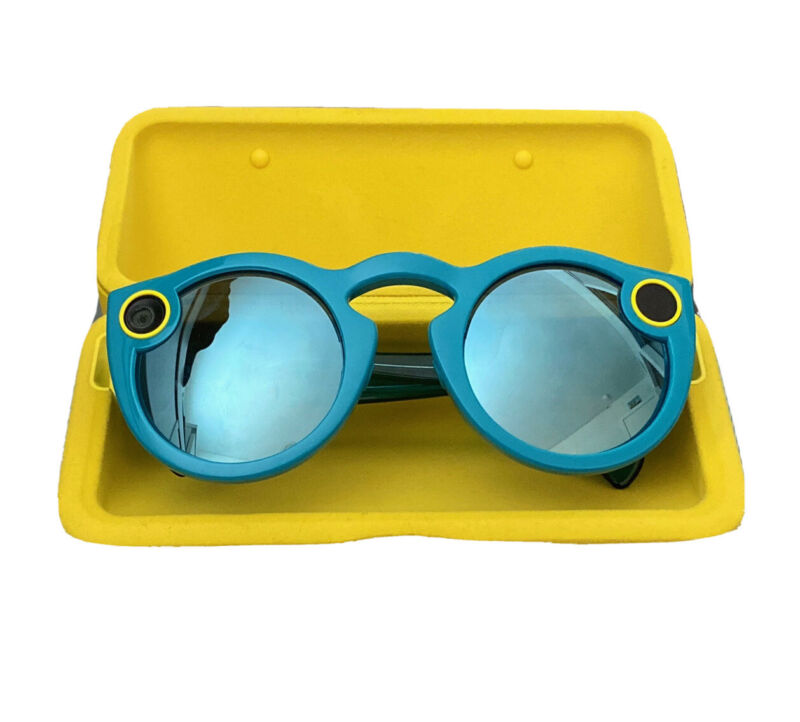 Never Used Snapchat Spectacles Glasses, Blue