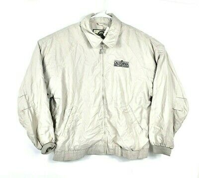 Las Vegas North End California Hotel Casino Zip Khaki Jacket Large Weather 881