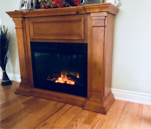 Fireplace electric- great condition