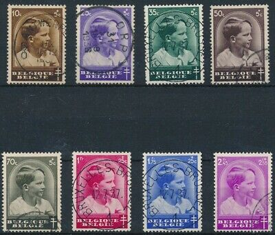 [1833] Belgium 1937 good Set very fine Used Stamps