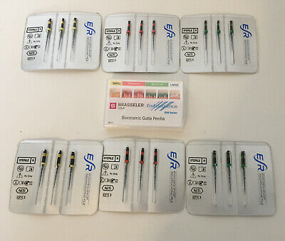 Brassler Dental Endosequence Reciprocating Files Lot Small Medium Primary