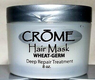 ☆ CROME Hair Mask WHEAT GERM Deep Repair Treatment Intense Repair 8oz ☆BEST