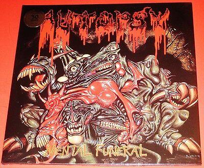Autopsy  Mental Funeral Lp Vinyl Record 2010 Peaceville Germany Vilelp25 New
