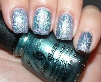 - NEW! China Glaze Nail Polish Lacquer in OXIDIZED AQUA #1047
