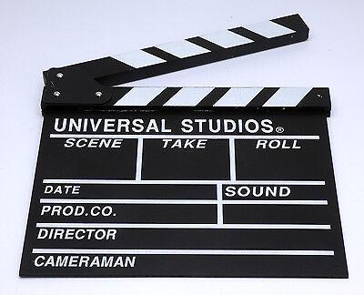 UNIVERSAL STUDIOS MOVIE DIRECTOR'S CLAP BOARD Clapper Clapboard Film SCHINDEL