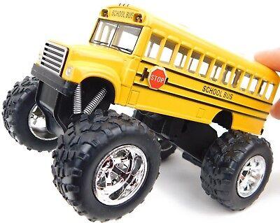 Toy Monster Truck (Monster Truck Toys Yellow School Bus Toy Hot Wheels Monster School Bus)