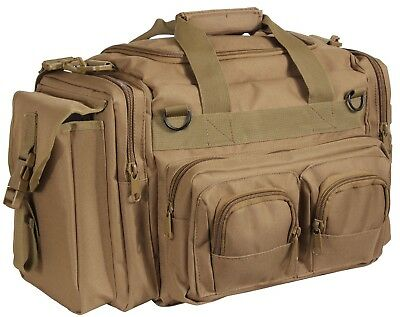 Brown Tactical Concealed Carry Bag Pistol Gun Range Large Duffle CCW Rothco 2653 ()