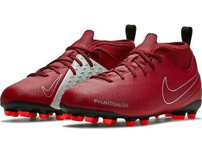 03f5c6770c0 Nike JR Phantom Vision VSN Club DF MG Red Soccer Cleats Size 5Y Youth  AO3288 606